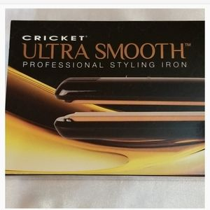💥Cricket Ultra Smooth Professional Styling Iron